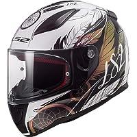 LS2 Casco de moto FF353 RAPID BOHO blanco