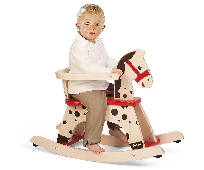 Janod Caramel Rocking Horse J05984 B000TQOF38