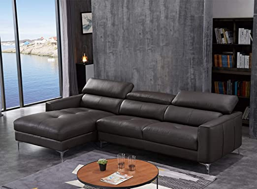 Amazon Com Funrelax Sofa Sectional Corner Sofa Set Modern Leather