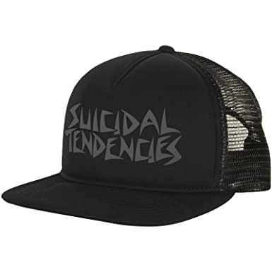 Amazon.com  Suicidal Tendencies Men s OG Night Trucker Cap ... 4a7abd7310f