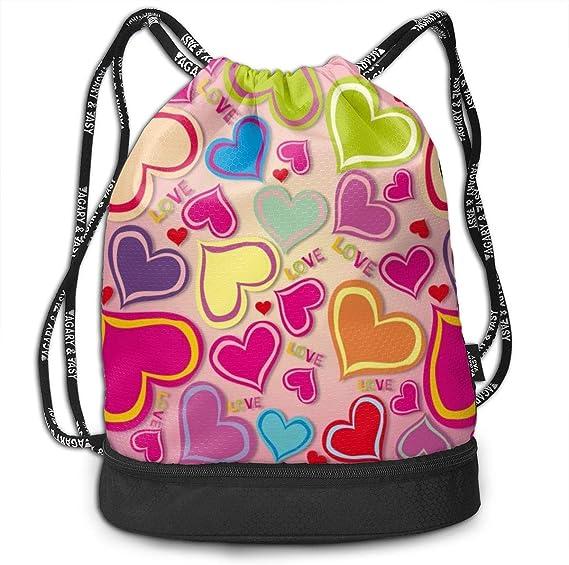 GymSack Drawstring Bag Sackpack Red Butterfly Sport Cinch Pack Simple Bundle Pocke Backpack For Men Women