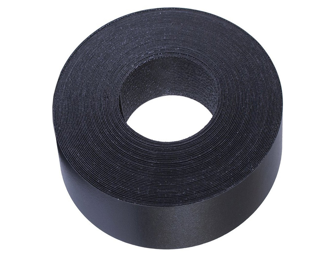 Black Melamine Edge Banding Preglued 2'' X 25' Roll - Iron on - Hot Melt - High Quality. Made in USA. by Edge Supply