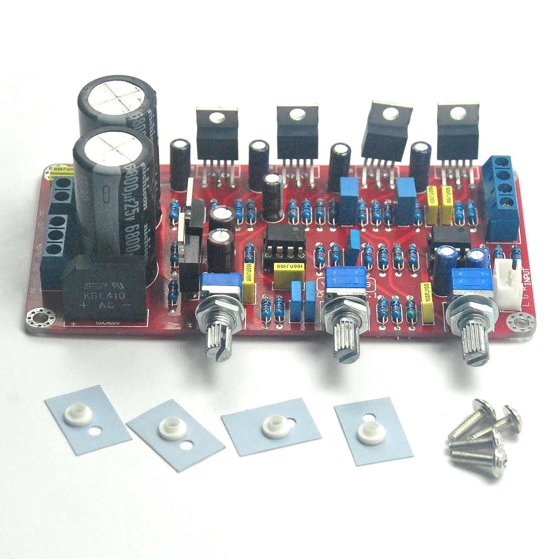 Lm1875 Ne5532 Ic 21 Channel 50w Audio Subwoofer Amplifier Assembled Frequency 20w Based Board Hi Fi Speakers