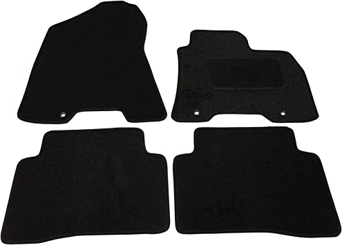 Fully Tailored Deluxe Car Mats in Black