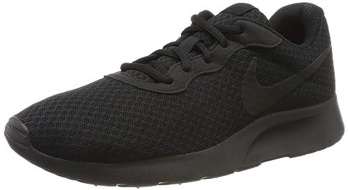 Nike Mens Tanjun Premium Running Sneaker Black/Black/Anthracite 12