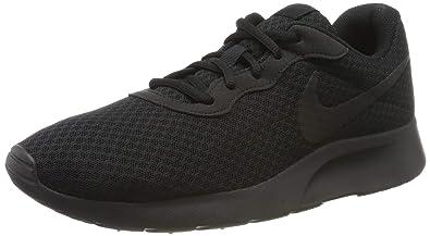best sneakers 8f4aa 9e116 Nike Herren Tanjun Laufschuhe, Schwarz