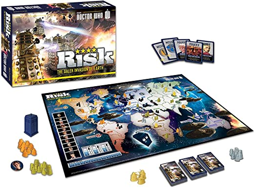 Risk: Doctor Who: USAopoly: Amazon.es: Juguetes y juegos
