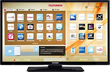 Telefunken LED de TV 81 cm 32 Pulgadas b32 F545 a DVB-T2 eficiencia energética A +, DVB-C, DVB-S, Full HD, Smart TV, WiFi, Ci +: Amazon.es: Electrónica