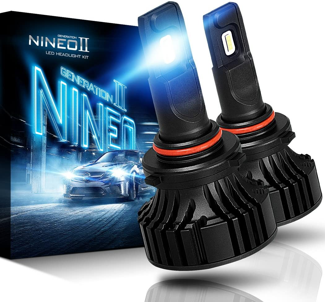 NINEO 9005 HB3 LED Headlight Bulbs