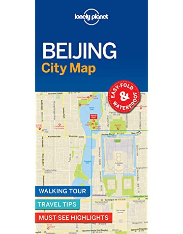 Lonely Planet Beijing Subway Map.Beijing Travel Guides