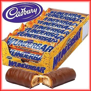 Cadbury Wunderbar Peanut Butter Schokoriegel 24 Stück Amazonde