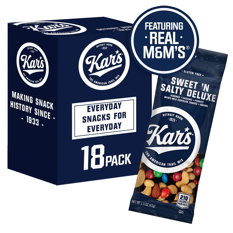 Kar's Nuts Sweet 'N Salty Deluxe Trail Mix Snacks Bulk Individual Single Serve Bags, Sweet 'N Salty Deluxe, 27 Oz