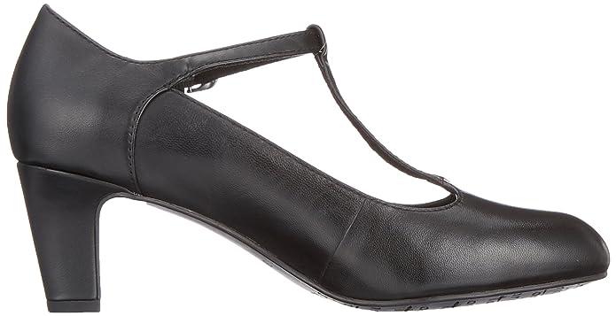 TAMARIS DAMEN PUMPSHIGH Heels BLACK (Schwarz) 1 1 24495 20