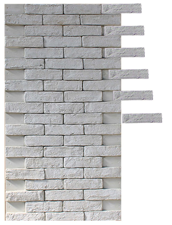 Panel ladrillo 3D 122.5 x 65.5 cm.: Amazon.es: Handmade