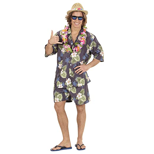 WIDMANN wdm59391 ? Disfraz Hawaiana, multicolor, One size: Amazon ...