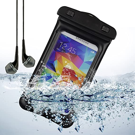 promo code 79cd6 99cef Amazon.com: Waterproof Case for Samsung Galaxy S8 S8+ C5 Pro A5 J7 V ...