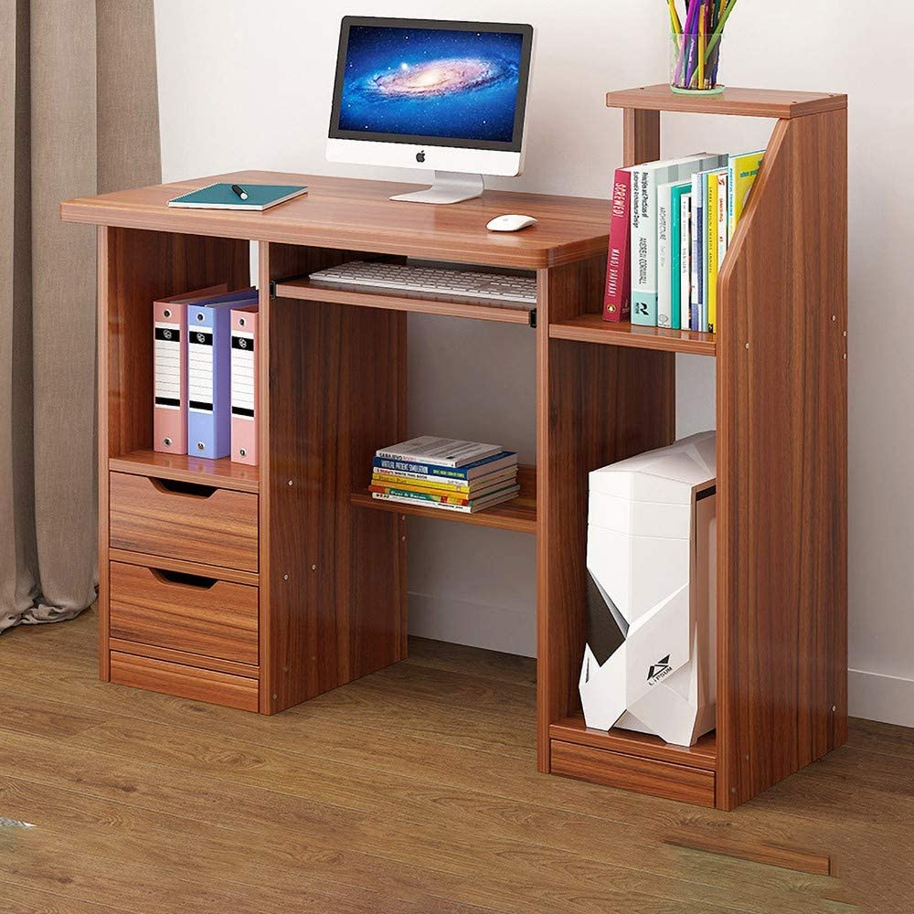 Amazon.com: KTDZ Computer Desk, Small Study Workstation with