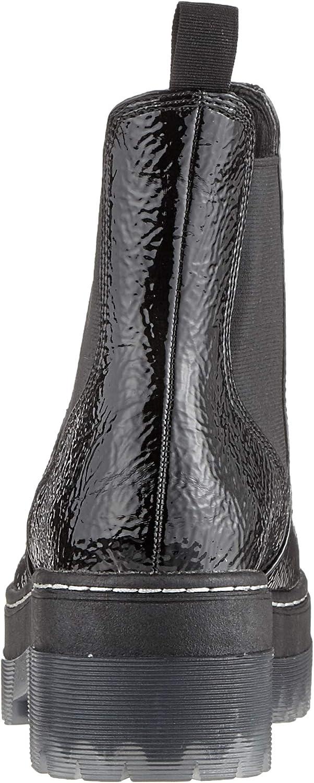 Tamaris 1-1-25958-33, Bottes Chelsea Femme Noir Black Patent 018
