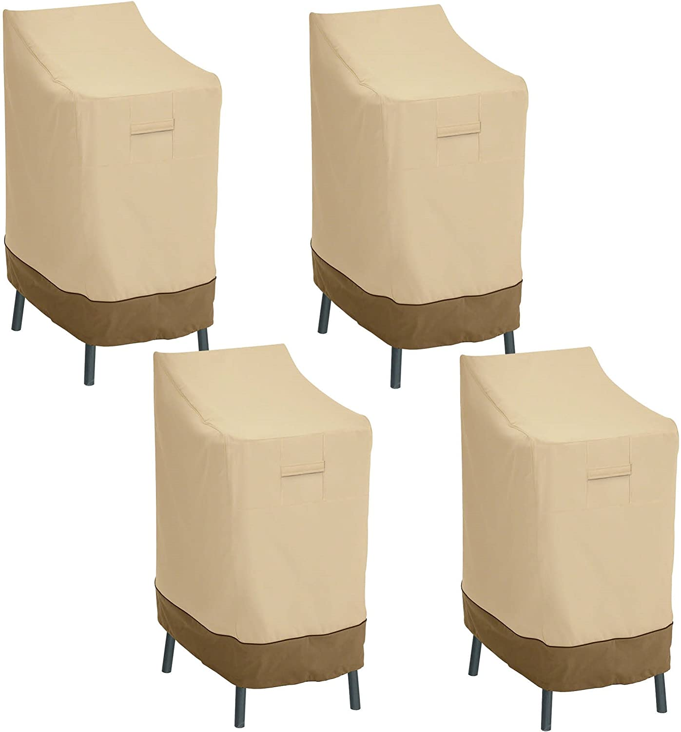 Classic Accessories Veranda Patio Bar Chair/Stool Cover (4-Pack)