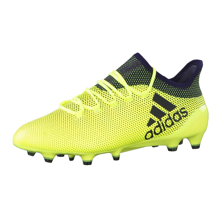 Adidas X 17.1 FG, Botas de Fútbol para Hombre 41 1/3 EU|Amarillo (Amasol/Tinley/Tinley)