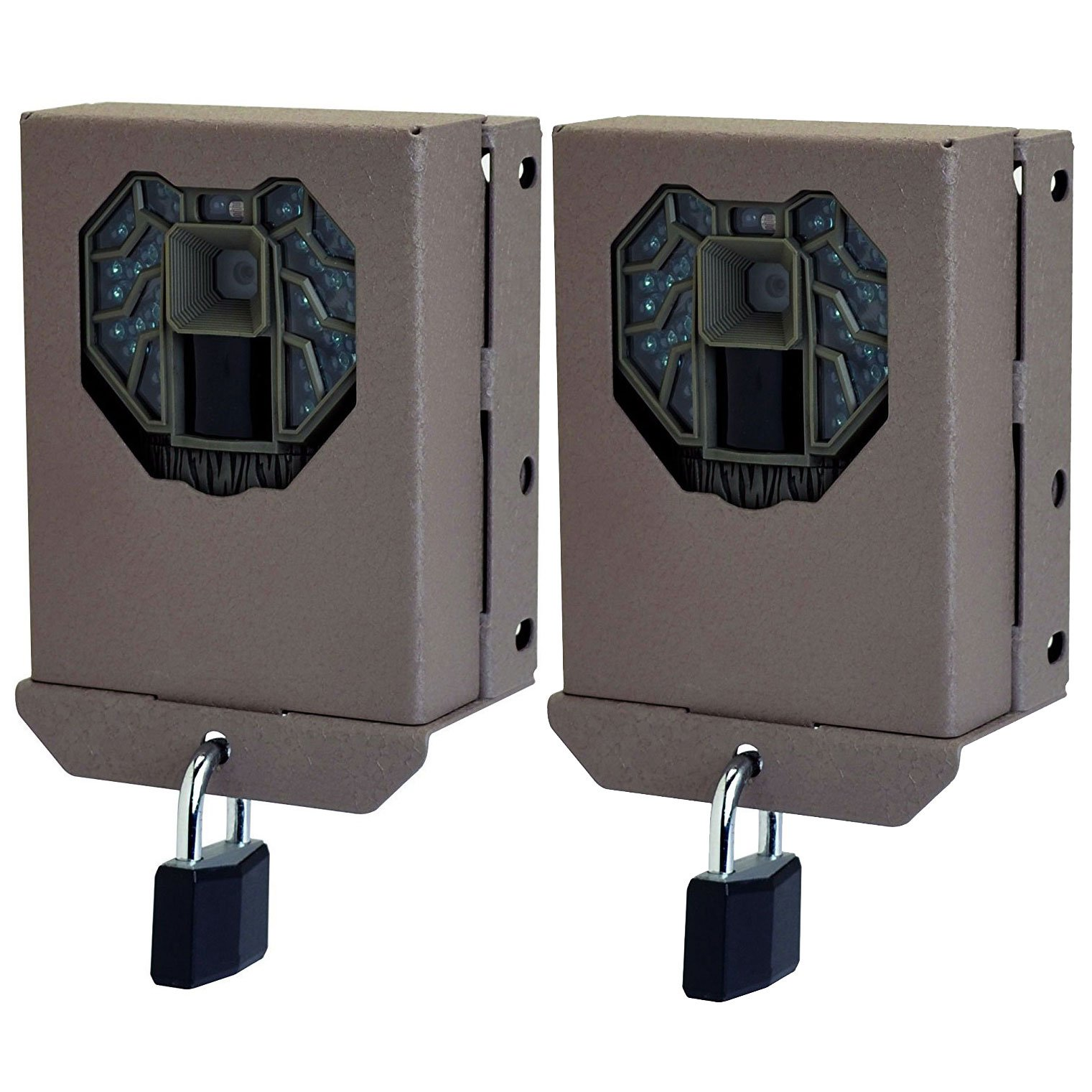 Stealth Cam Steel Security Trail Game Camera Bear Box for G Pro Series (2 Pack)