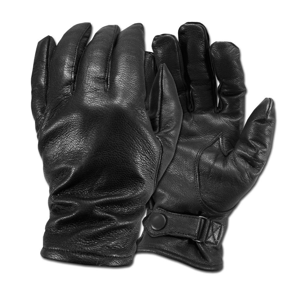 BW Lederhandschuhe schwarz Unbekannt