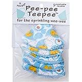 Pee-Pee Teepee Rubber Ducky Blue - Cello Bag