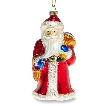 Amazon De Sikora Bs379 Glas Figur Christbaumschmuck Weihnachtsbaum