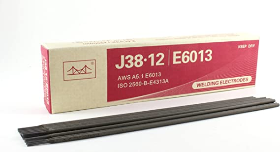 General Purpose//Mild Steel PACK: 55 LB 16 x 5//32 E6013 Welding Electrode//Rod