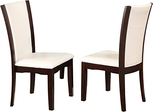 Crown Mark Camelia Side Chair White