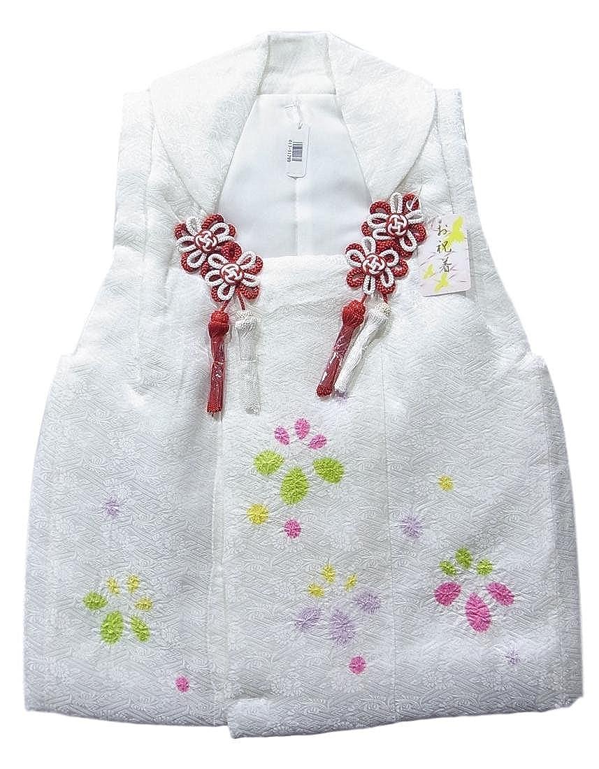 ●日本正規品● 被布 B07CG8K87V 絞り染め 被布 女児 子供用 七五三 白 三歳 白 絹 B07CG8K87V, ZIP メンズファッション:4f72c36e --- a0267596.xsph.ru