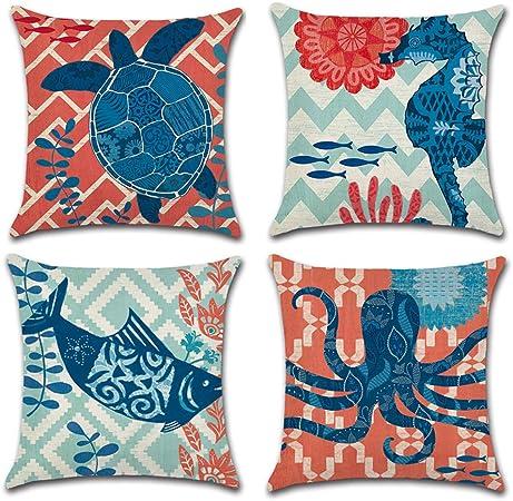 Vintage linen look pays côté animaux imprimé numérique designer upholstery fabric