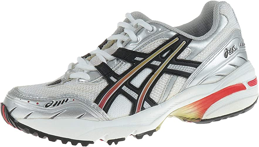 Asics GEL-1090 CN3190190 - Zapatillas de running para mujer, color blanco y negro, color Multicolor, talla 35 EU: Amazon.es: Zapatos y complementos