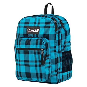 Amazon.com: Jansport Backpack - Blue Plaid: Computers & Accessories