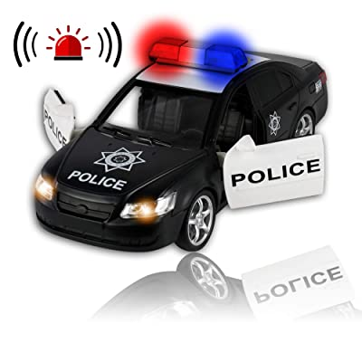 WolVolk WV-Friction-Police-Car Toys for Boys: Toys & Games