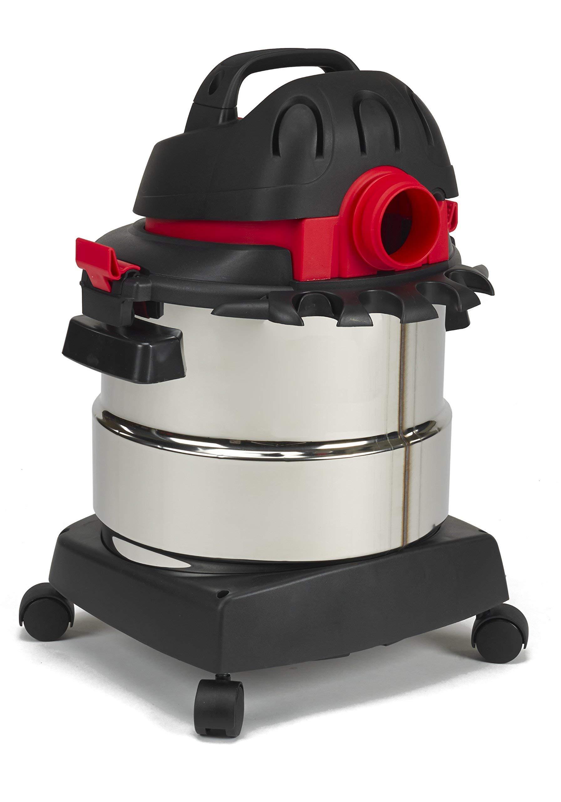 Shop-Vac 5989300 5-Gallon 4.5 Peak HP Stainless Steel Wet Dry Vacuum (Renewed) by Shop-Vac (Image #4)