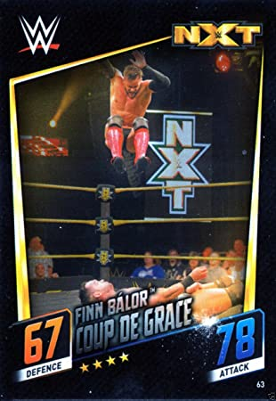 Slam Attax Then Now Forever 63  Finn Balor Signature Move