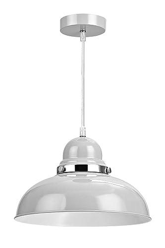 screw in pendant lighting. Premier Housewares E27 Edison Screw Vermont Pendant Light, 40 W, 110 X 30 In Lighting