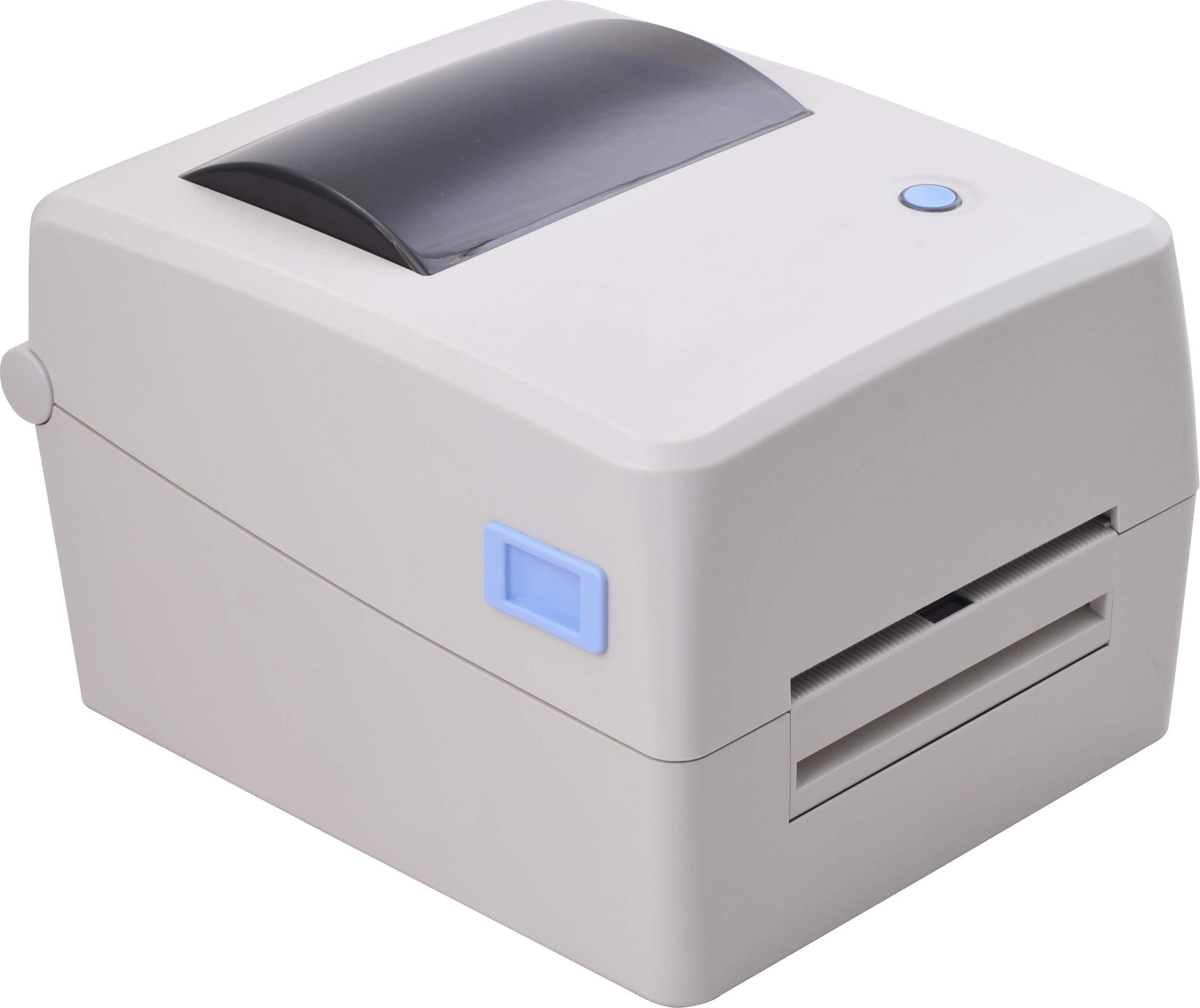 Xprinter XP-TT424B 110mm 4.3inch 203dpi Thermal and Thermal-Transfer Label Printer,Thermal and Thermal-Transfer Barcode Printer, USB 2.0 Interface
