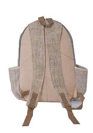 virblatt - mochila alternativa hecha de cáñamo para hombres y mujeres como ropa alternativa - Hempmade: Amazon.es: Equipaje