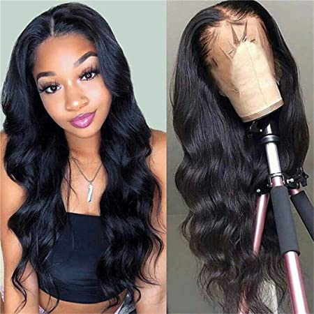 9a Body Wave Wigs Human Hair 13 4 Lace Front Wigs 100 Unprocessed Brazilian Virgin Human Hair Lace Front Wig Natural Color For Black Women 10 Inch Beauty Amazon Com