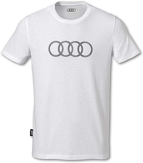 Camiseta para hombre con anillos blancos (XXXL): Amazon.es: Ropa y accesorios