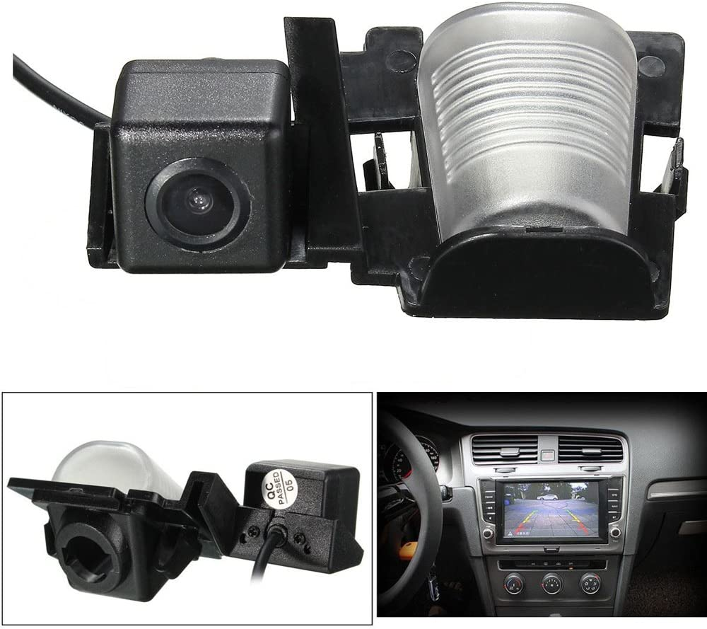 Dynavsal Auto Farb Rückfahrkamera Einparkhilfe Mit Distanz Hilfslinien In Der Kennzeichenleuchte Für Jeep Wrangler Jku Rubicon