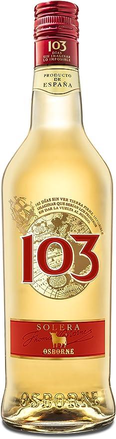 Bebida espirituosa elaborada a base de Brandy de Jerez 103 marca Osborne - 1 botella de 70 cl