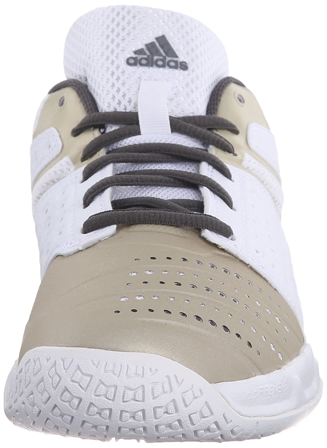 Adidas Performance mujeres s Court Stabil 12 W Volleyball zapatos White