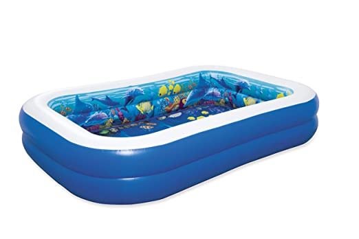Piscina Hinchable Infantil Bestway 3D Undersea Adventure ...