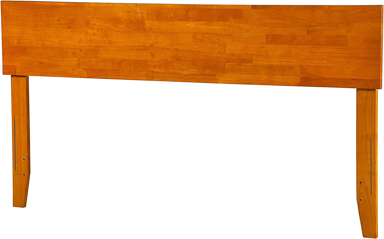 Atlantic Furniture Orlando Headboard, King, Caramel