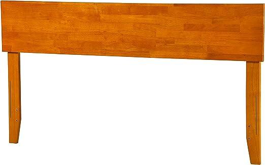 Atlantic Furniture Orlando King Panel Headboard in Caramel Latte