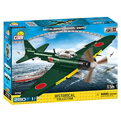 COBI Historical Collection Mitsubishi A6M5 Zero Plane: Toys & Games