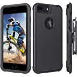 BENTOBEN iPhone 8 Plus Case, iPhone 7 Plus Case, iPhone 6S Plus Case, iPhone 6 Plus Case, Heavy Duty Shockproof Protective Be